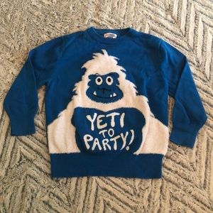Cat and Jack size xs (4/5) sweater